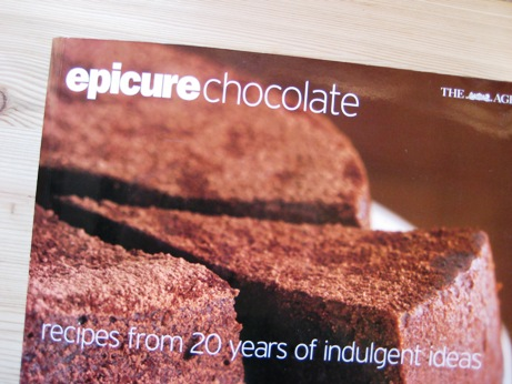 Epicure invited readers to submit chocolate recipes for their book,
