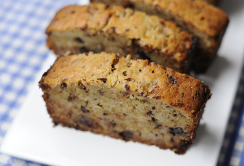 Banana Choc Bread